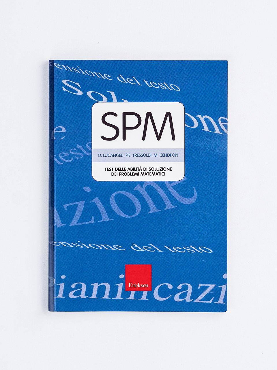 Test SPM - Abilità di soluzione dei problemi matematici - Test ABCA - Abilità di calcolo aritmetico - Libri - Erickson