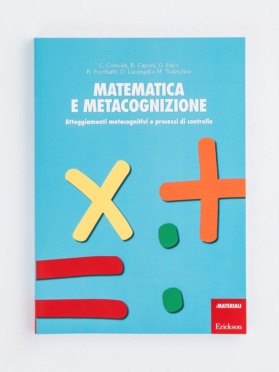 Matematica e metacognizione - Discalculia test - App e software - Erickson