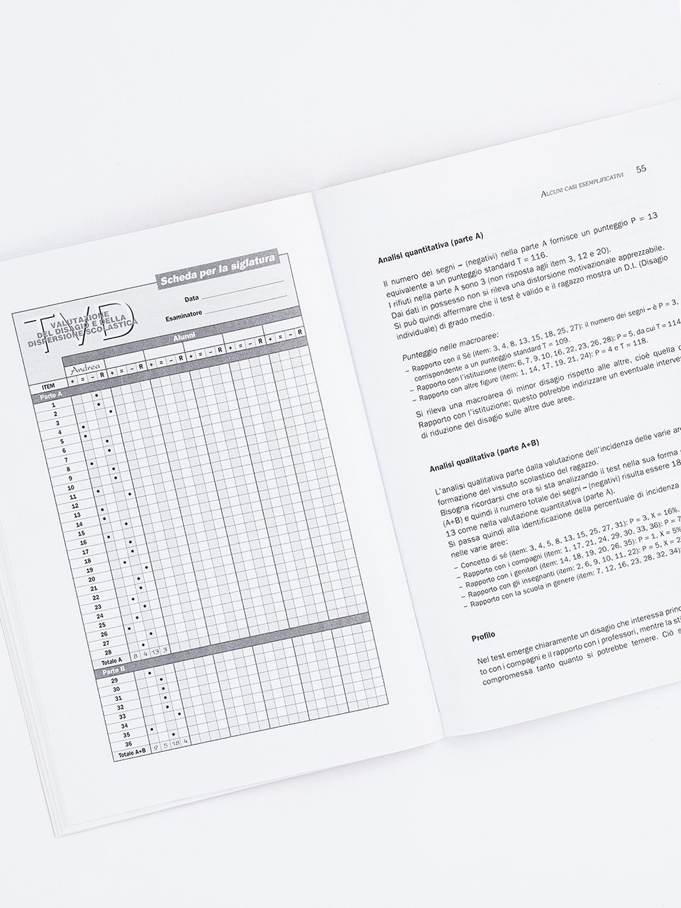 Test TVD - Valutazione del disagio e dispersione s - Libri - Erickson 2