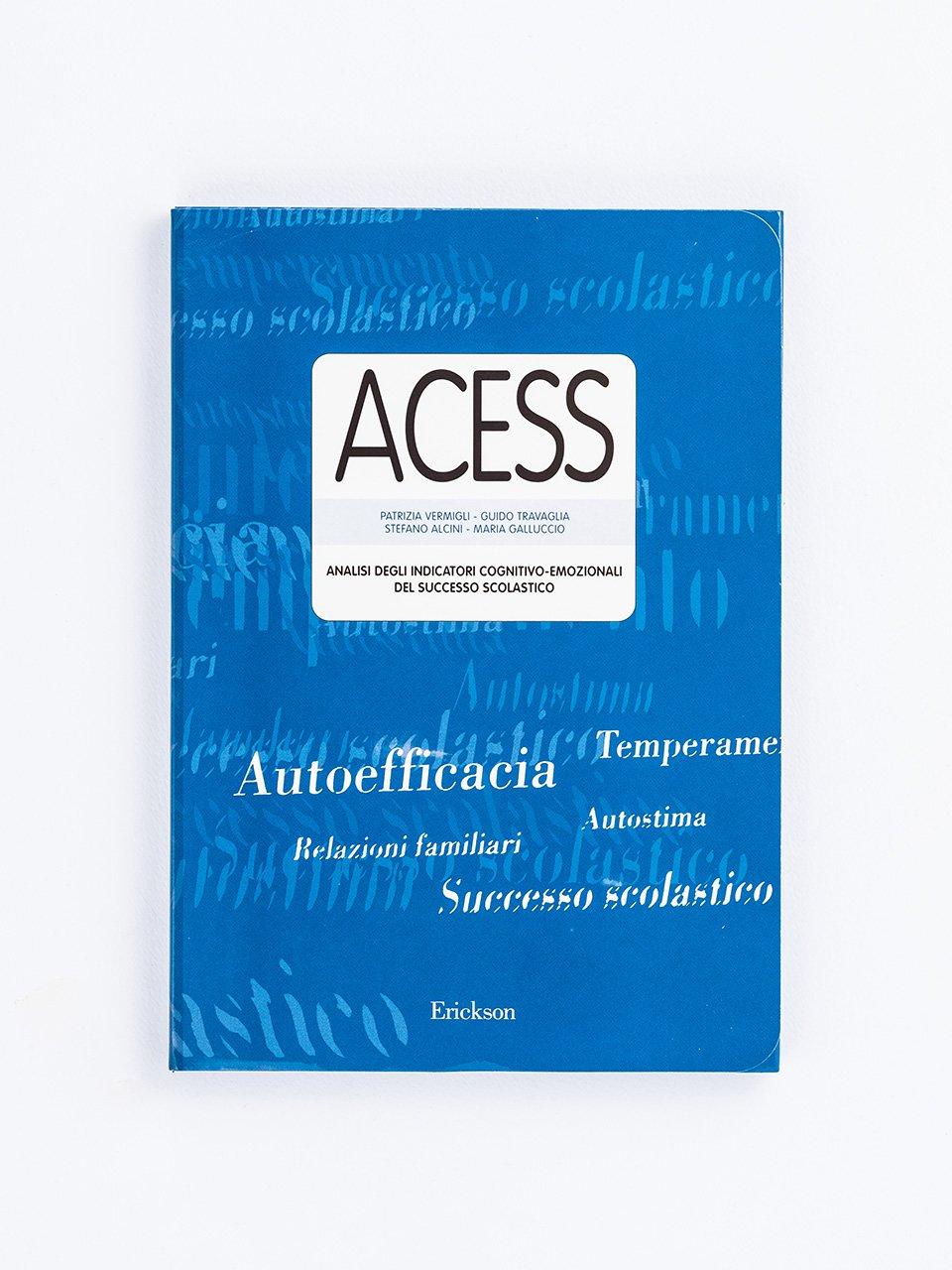 Test ACESS - Analisi degli indicatori cognitivo-emozionali del successo scolastico - Strumenti - Erickson