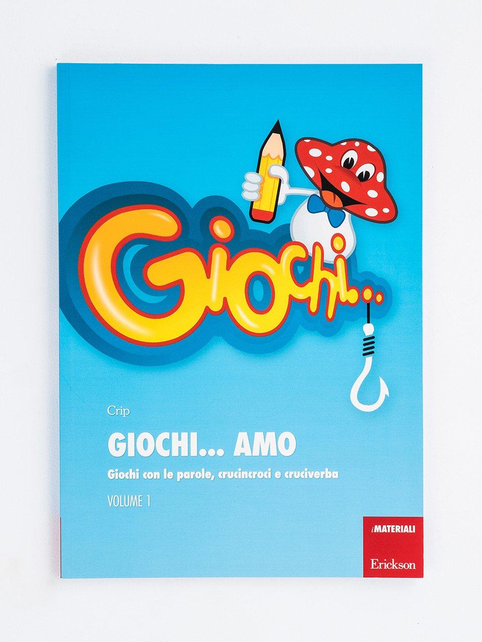 Giochi... amo - Volume 1 - Giochi... amo CD-ROM 1 - App e software - Erickson