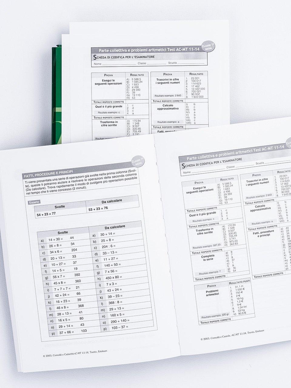 Test AC-MT 11-14 - Test di valutazione delle abili - Libri - Erickson 2