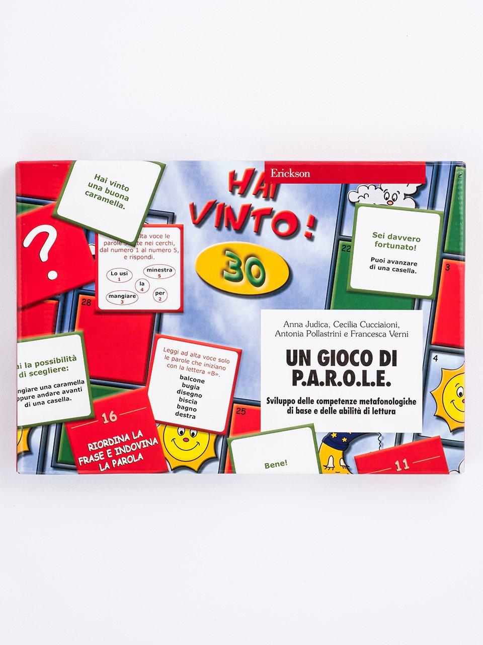 Un gioco di P.A.R.O.L.E. - Test TVL - Valutazione del linguaggio - Libri - Strumenti - Erickson