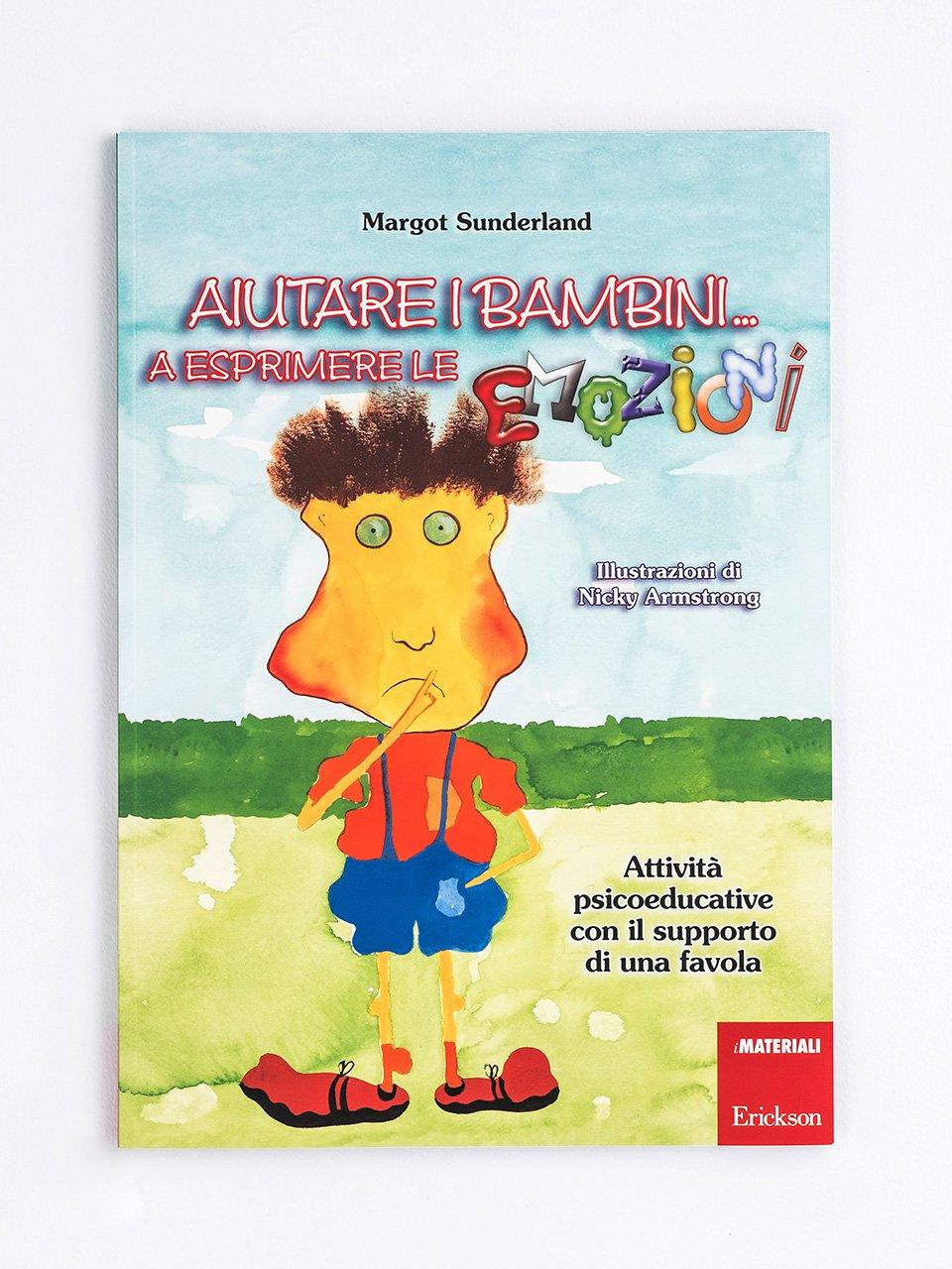 Aiutare i bambini... a esprimere le emozioni Libro + Allegati - Erickson Eshop