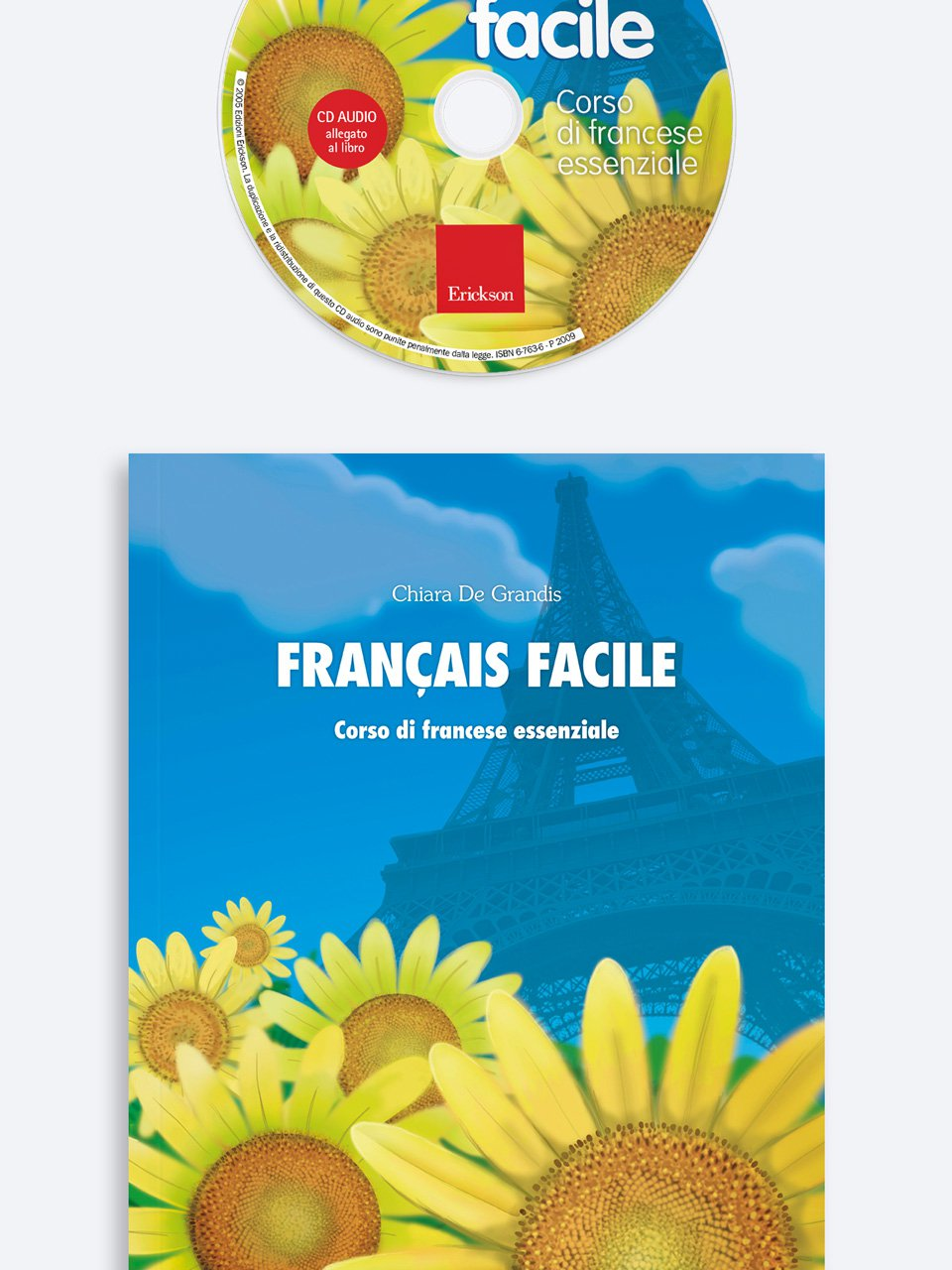 Français facile Libro + CD-Audio - Erickson Eshop
