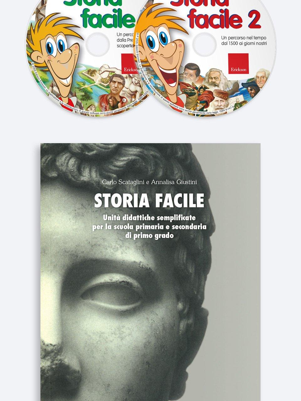 Storia facile - Geografia facile per la classe quinta - Libri - Erickson 3
