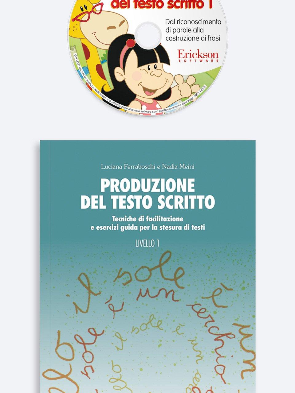 Produzione del testo scritto - Livello 1 - Luciana Ferraboschi - Erickson 3