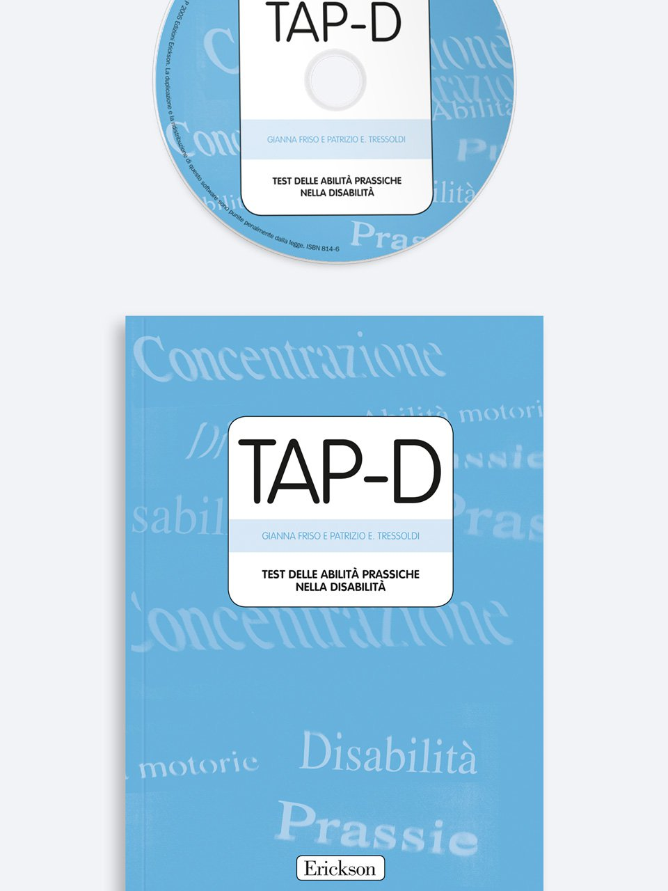 TAP-D - Test delle Abilità Prassiche nella Disabilità - Test TEMA - Memoria e apprendimento - Libri - Strumenti - Erickson