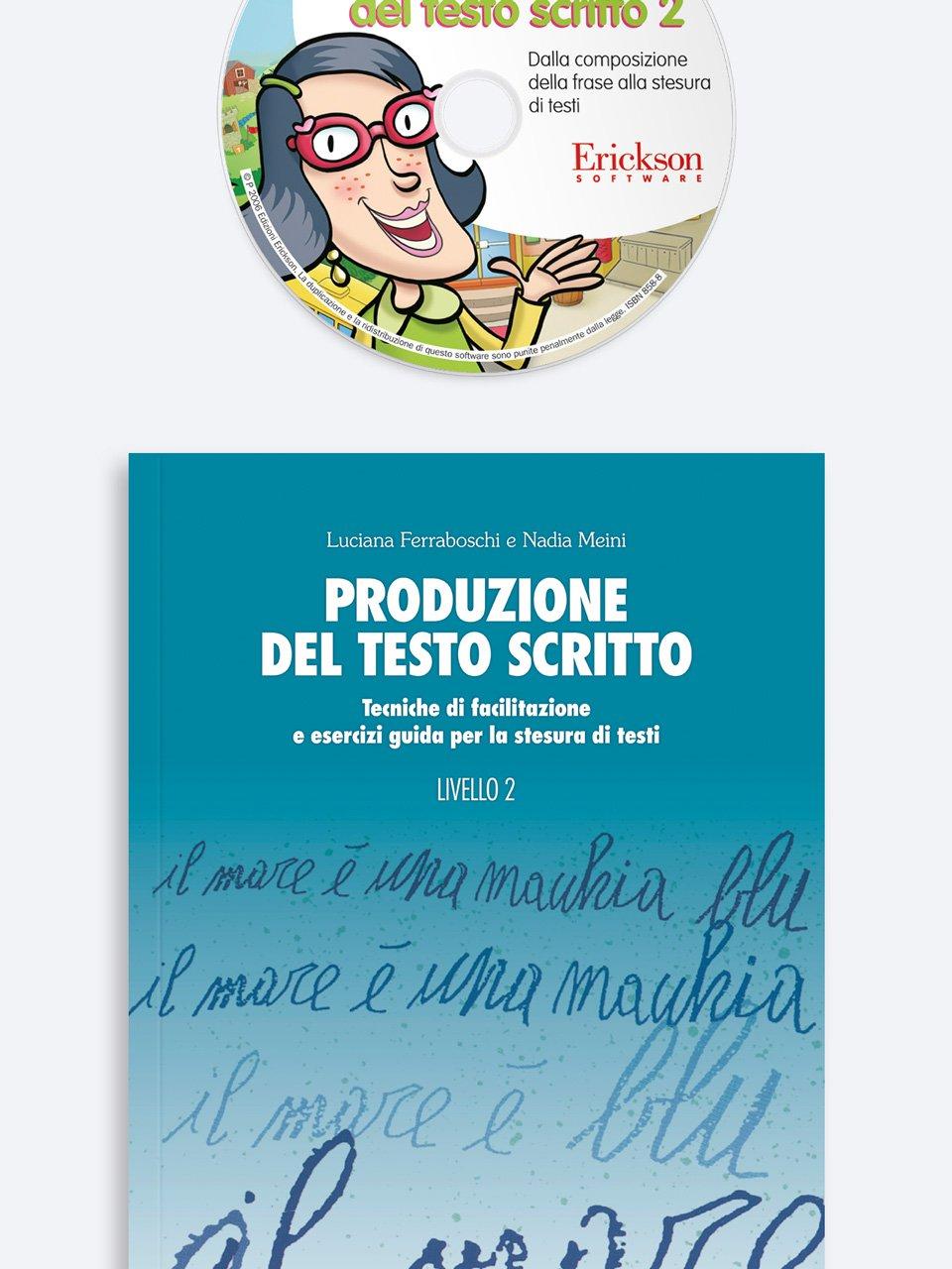 Produzione del testo scritto - Livello 2 - Luciana Ferraboschi - Erickson 3
