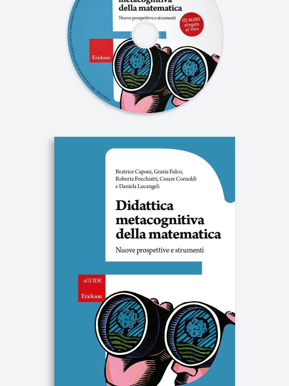 Didattica metacognitiva della matematica - Laboratorio discalculia - Libri - Erickson