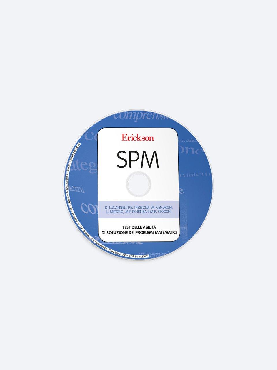 Test SPM - Abilità di soluzione dei problemi matematici - Test ABCA - Abilità di calcolo aritmetico - Libri - Erickson 2
