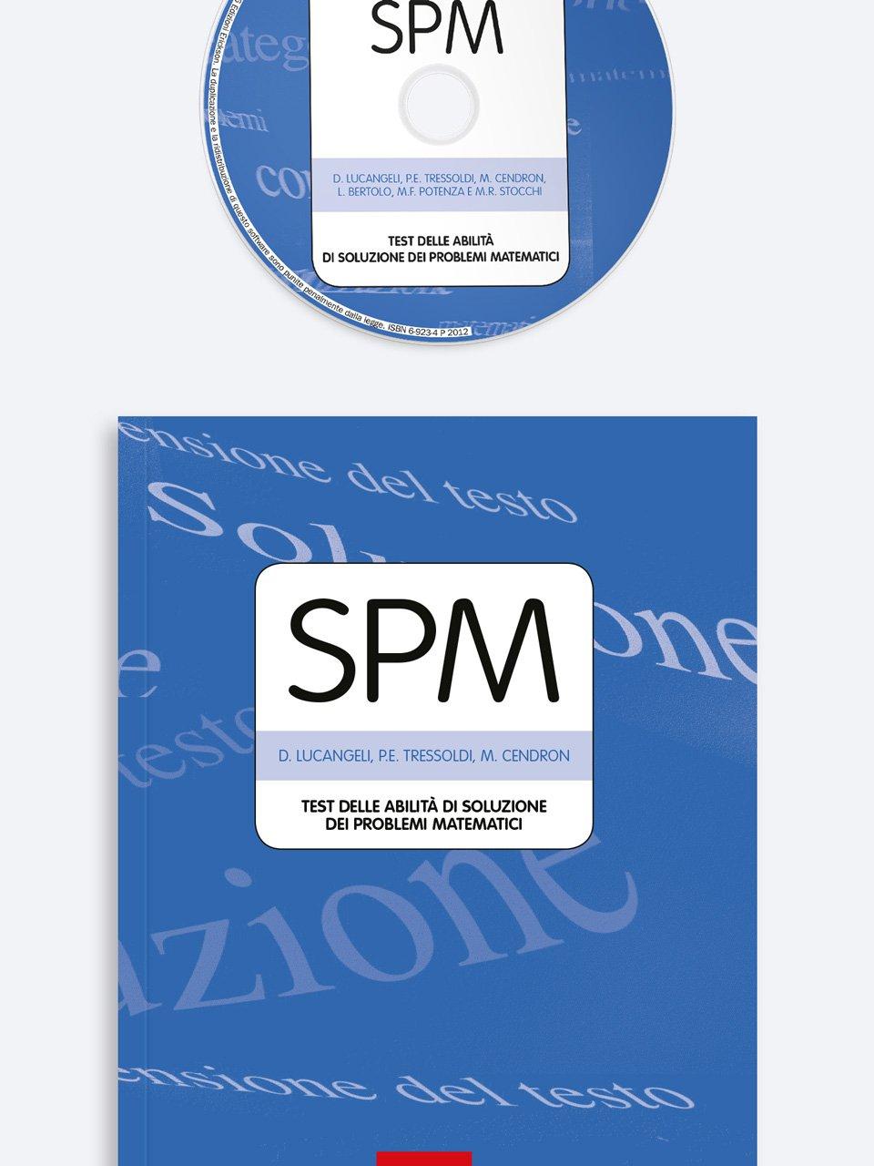 Test SPM - Abilità di soluzione dei problemi matematici - Test ABCA - Abilità di calcolo aritmetico - Libri - Erickson 3