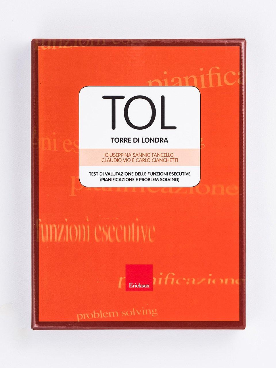 Test TOL - Torre di Londra (Test di valutazione delle funzioni esecutive) - C'era un Pirata - Giochi - Erickson