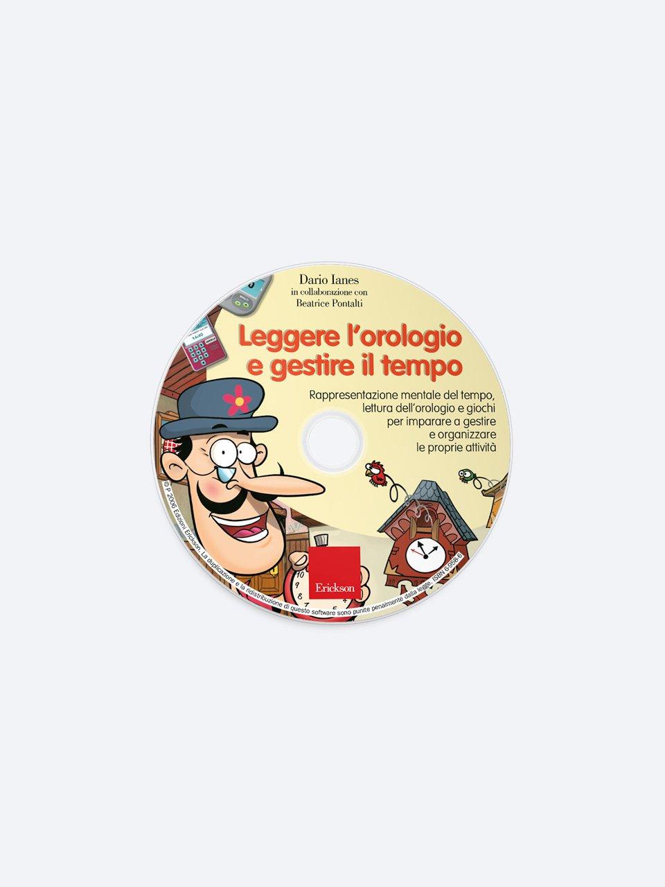 Imparo a... leggere l'orologio - Dario Ianes - Erickson 3