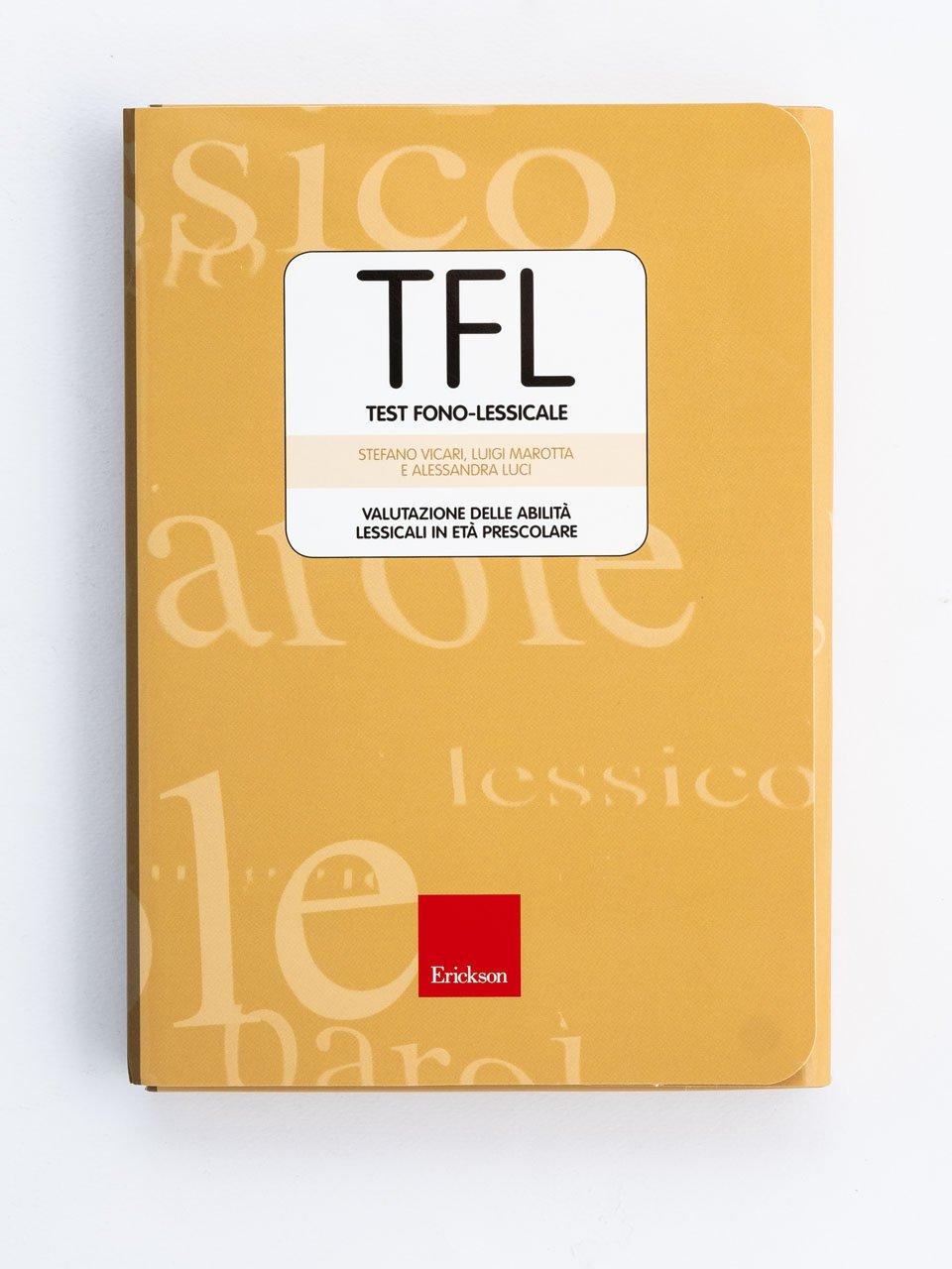 TFL Test fono-lessicale - Stefano Vicari - Erickson