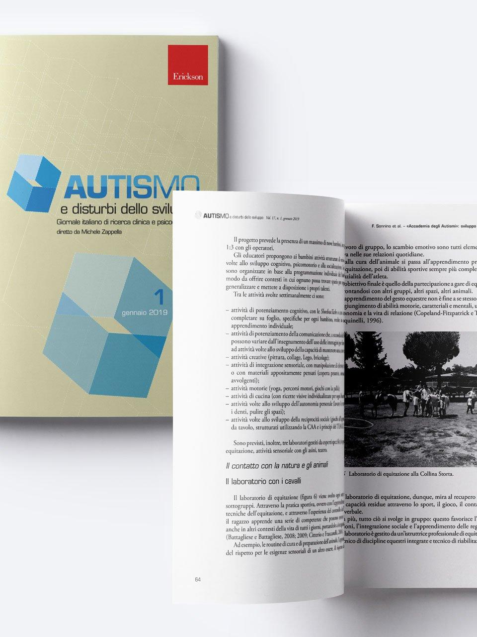 Autismo e disturbi dello sviluppo - Riviste - Erickson 3