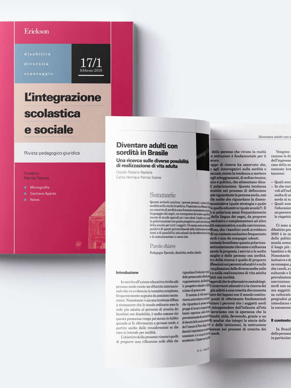 L'integrazione scolastica e sociale - Riviste - Erickson 3