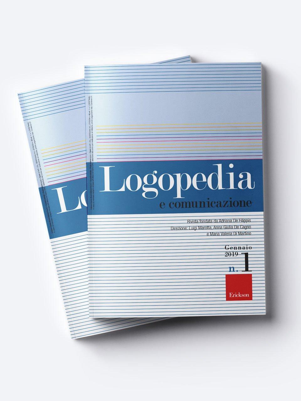 Logopedia e comunicazione - Riviste - Erickson