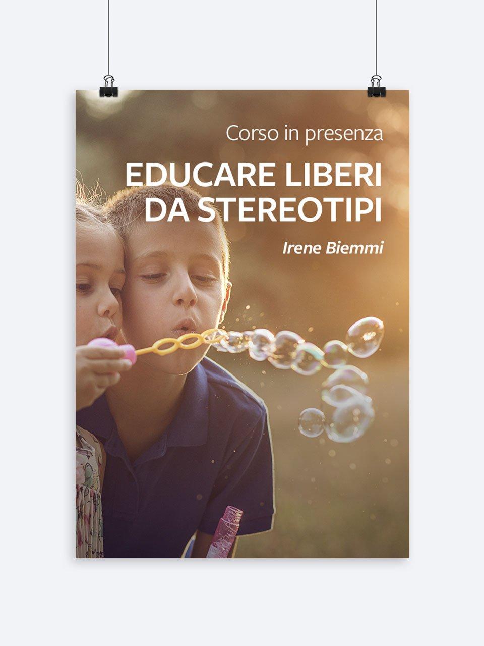 Educare liberi da stereotipi - Formazione per docenti, educatori, assistenti sociali, psicologi - Erickson