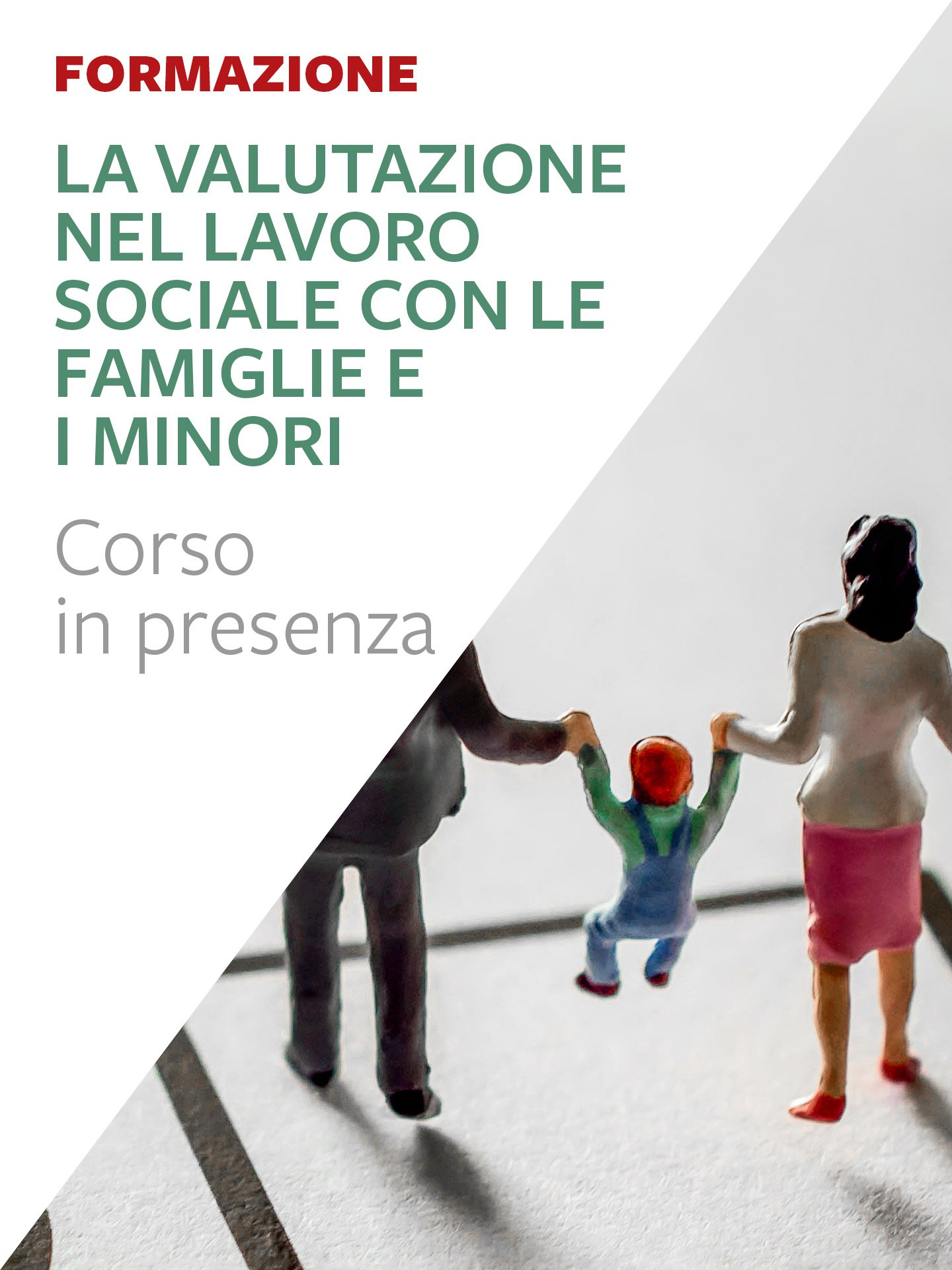 La valutazione nel lavoro sociale con le famiglie e i minori. - Lavoro sociale - Riviste - Erickson