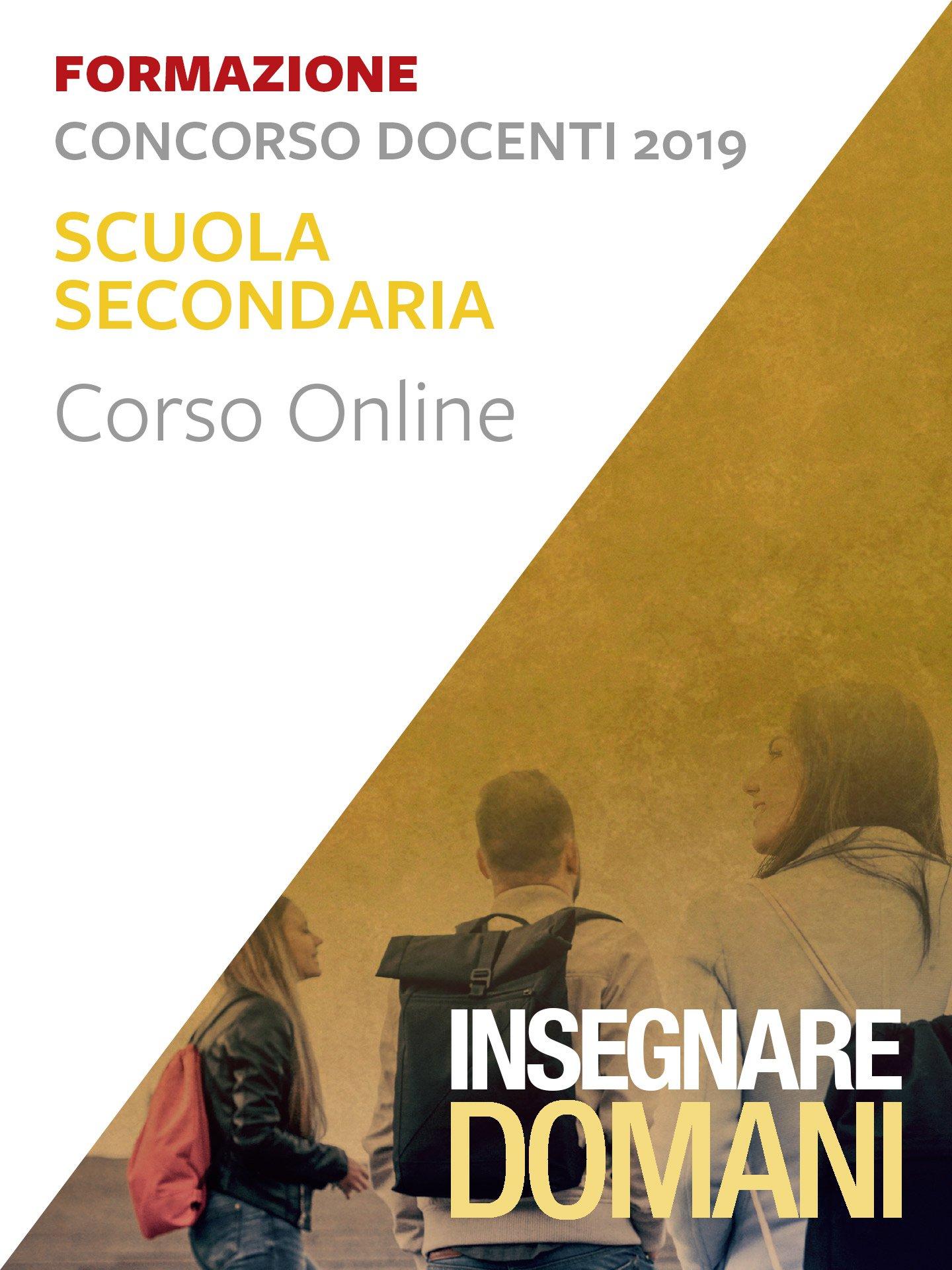 Insegnare domani - Scuola Secondaria - Concorso do Iscrizione Corso online - Erickson Eshop
