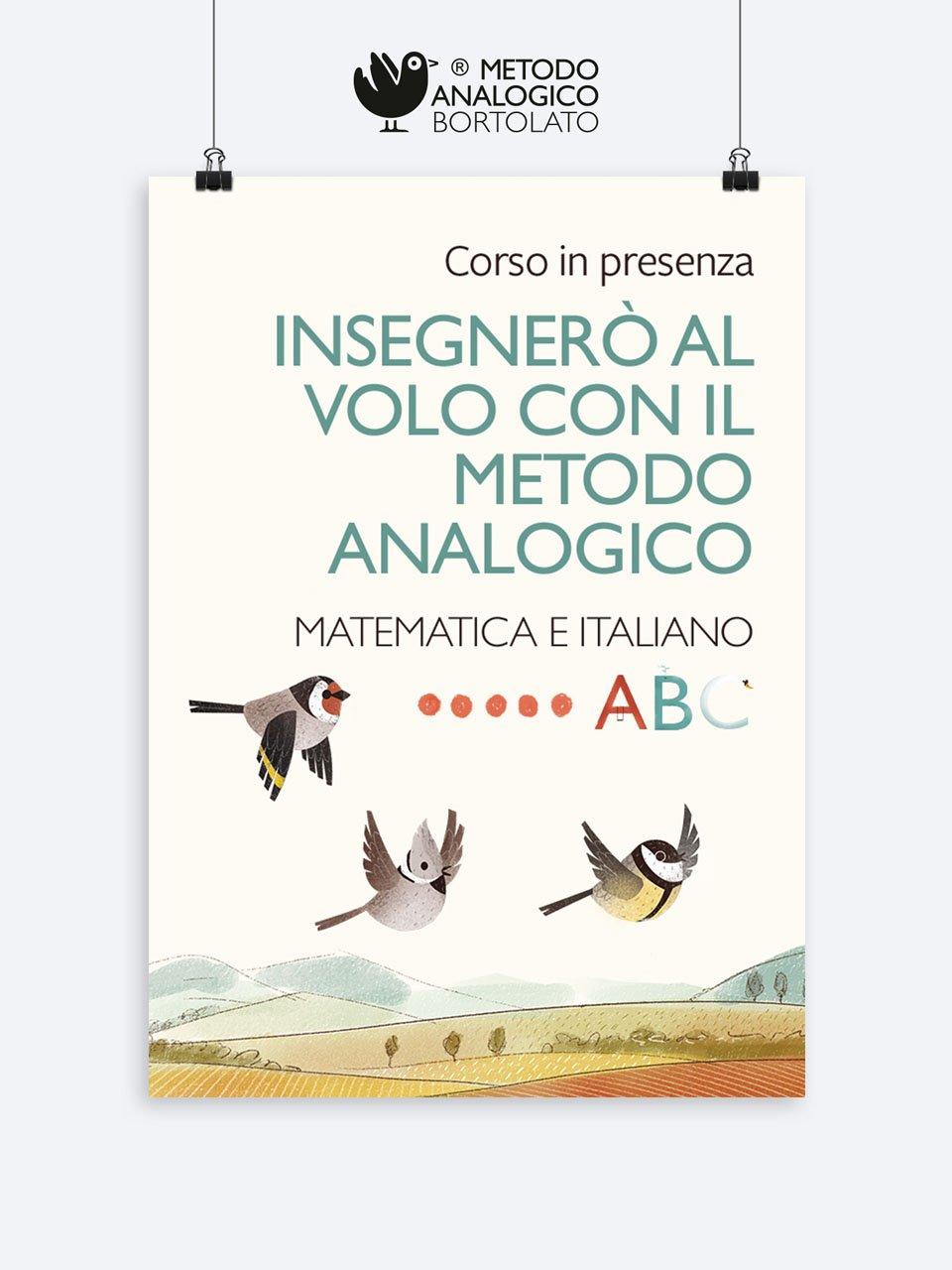Insegnerò al volo con il Metodo Analogico – Matematica e italiano PALERMO - Metodo Analogico Formazione - Erickson
