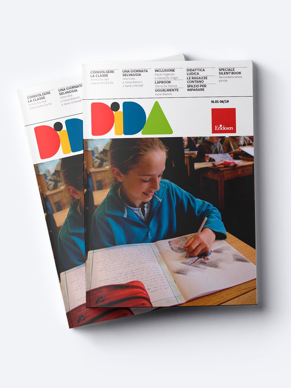 DIDA - Annata 2019-2020 - Non ci sto più dentro! - Libri - Erickson