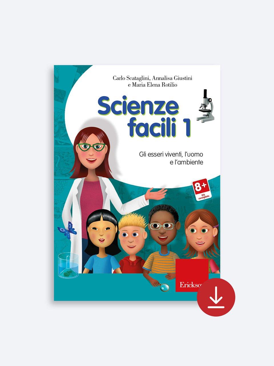 Scienze facili - Mia nonna era un pesce - Libri - Erickson 2