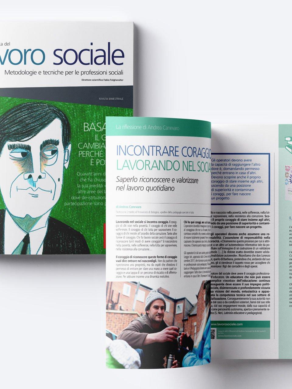 Lavoro sociale - Riviste - Erickson 2