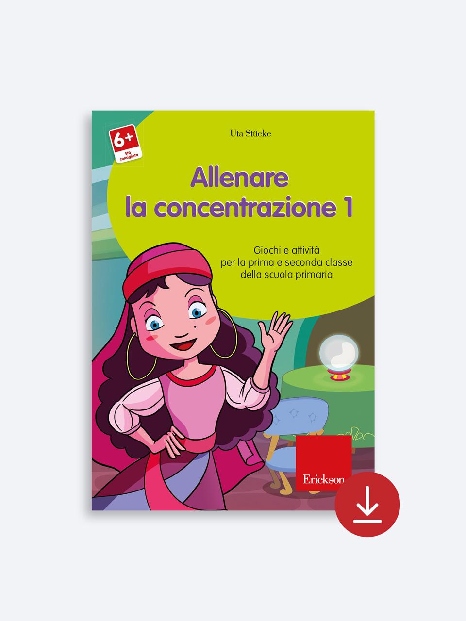 Allenare la concentrazione - Volume 1 - Allenare la concentrazione - Volume 2 - Libri - App e software - Erickson