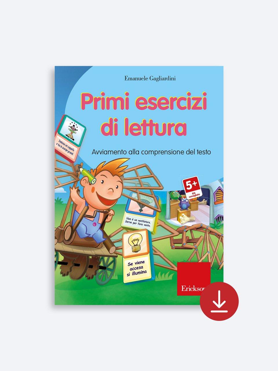 Primi esercizi di lettura - Il mio primo sillabario - Libri - Erickson 2