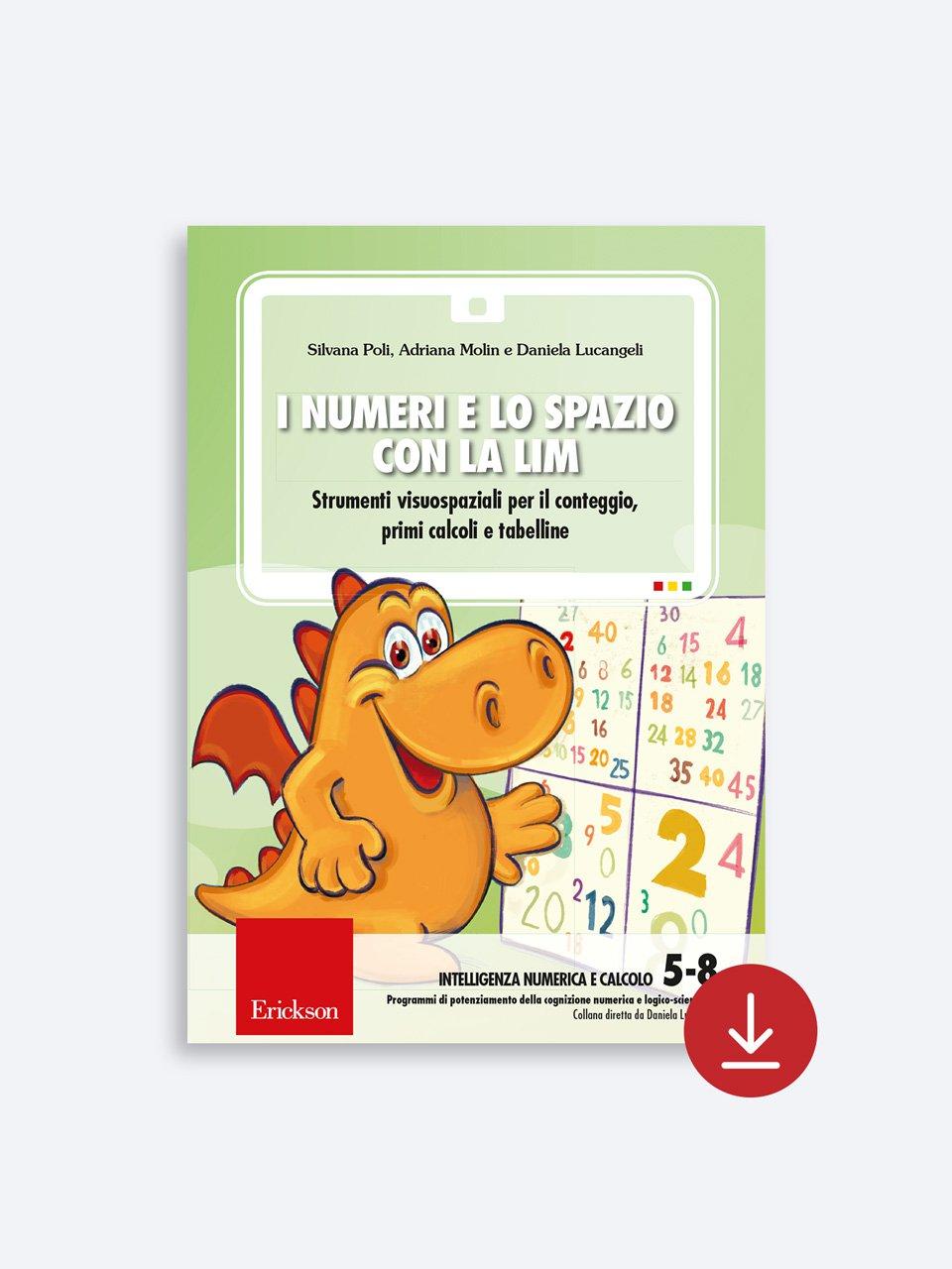 I numeri e lo spazio con la LIM - Adriana Molin - Erickson