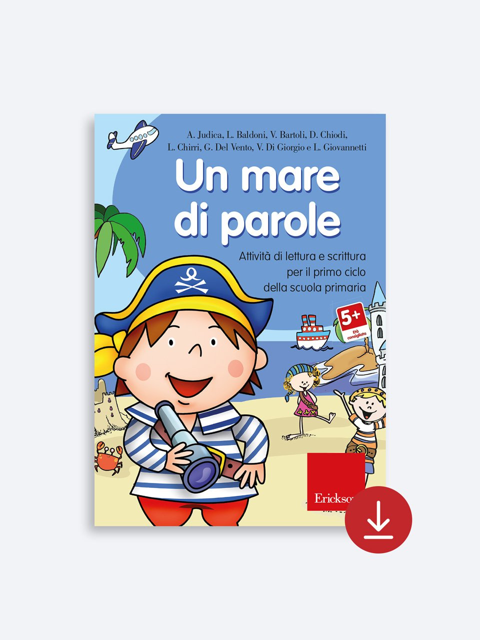 Un mare di parole - Schede per Tablotto (6-8 anni) - Grammatica incant - Giochi - Erickson 2