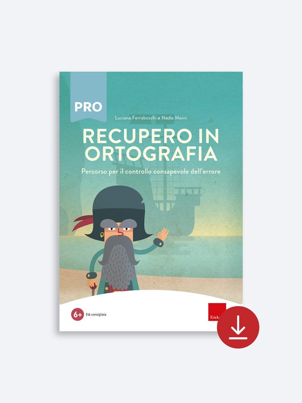 Recupero in ortografia - Libri - App e software - Erickson 3