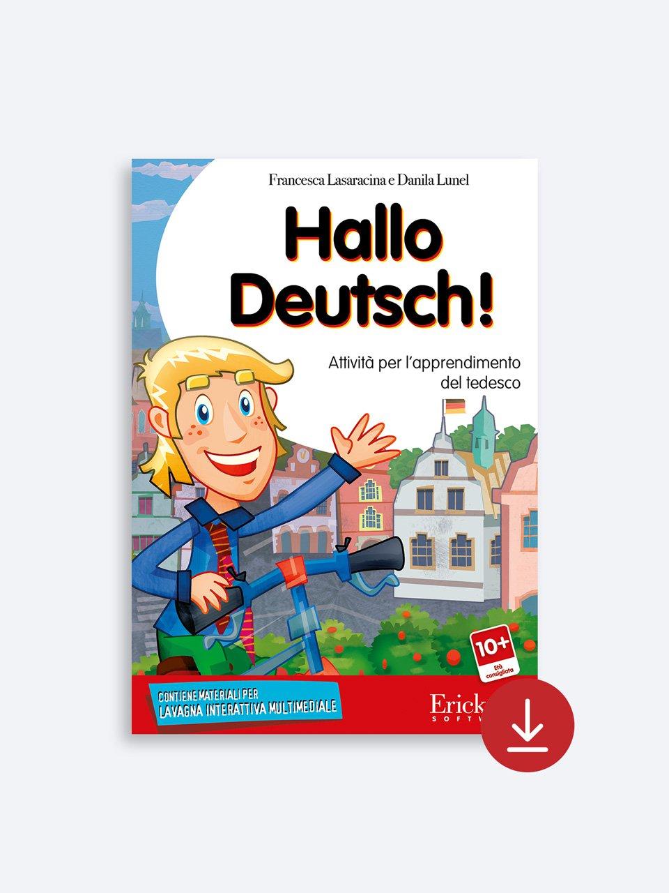 Hallo Deutsch! - Libri - App e software - Erickson