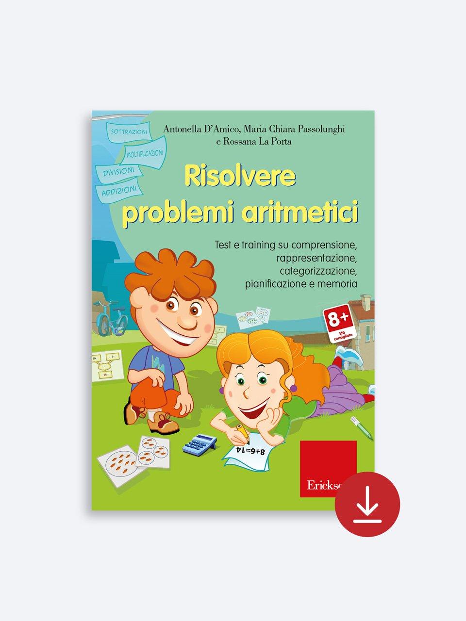 Risolvere problemi aritmetici - Superare i test di ammissione - Libri - Erickson 2