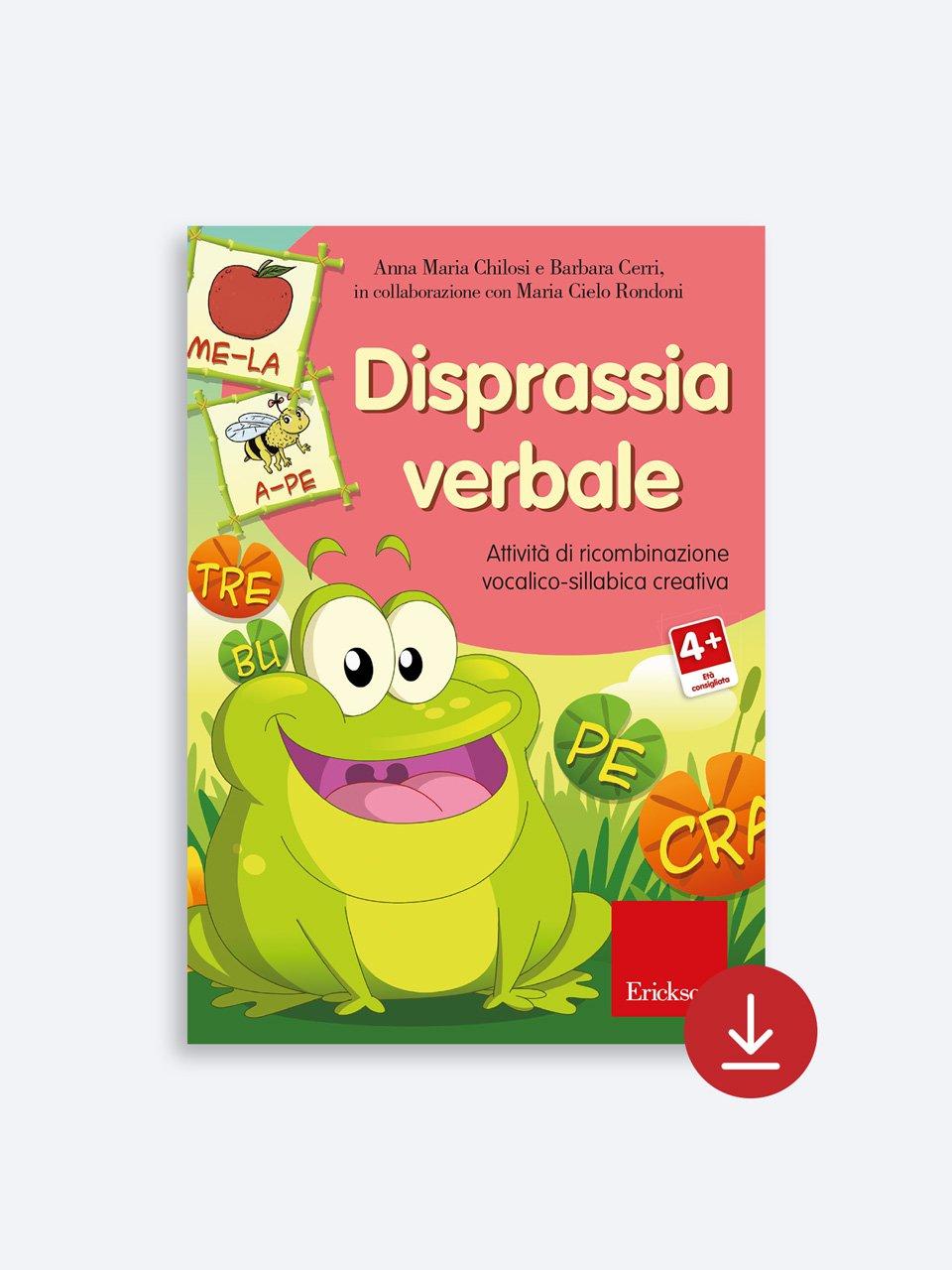 Disprassia verbale - Disprassia e apprendimento - Libri - Erickson