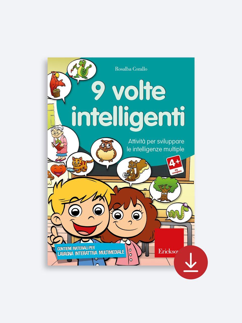 9 volte intelligenti - Rosalba Corallo - Erickson 2