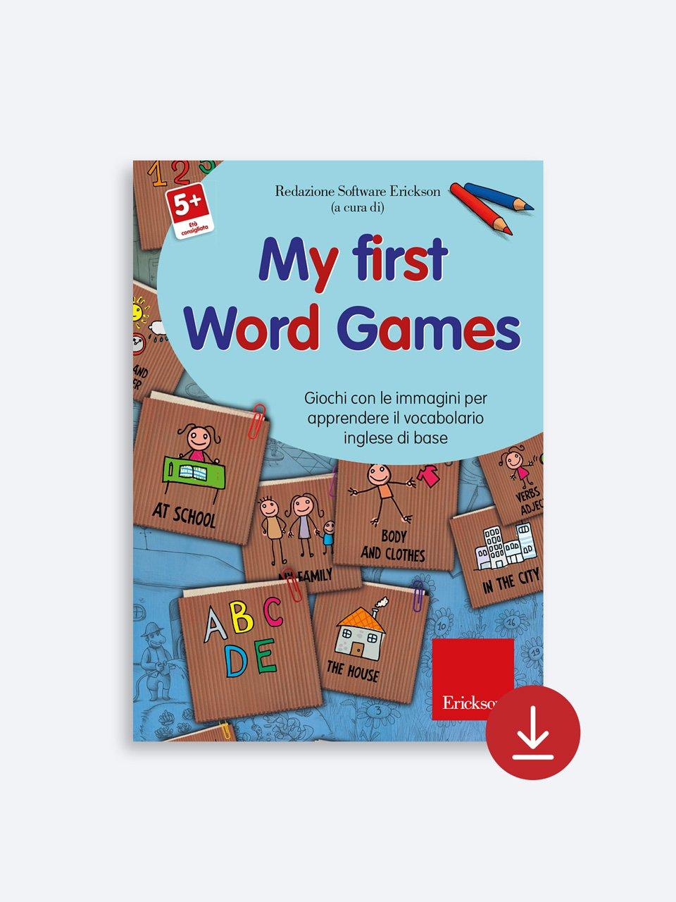 My First Word Games - App e software per Scuola, Autismo, Dislessia e DSA - Erickson 2