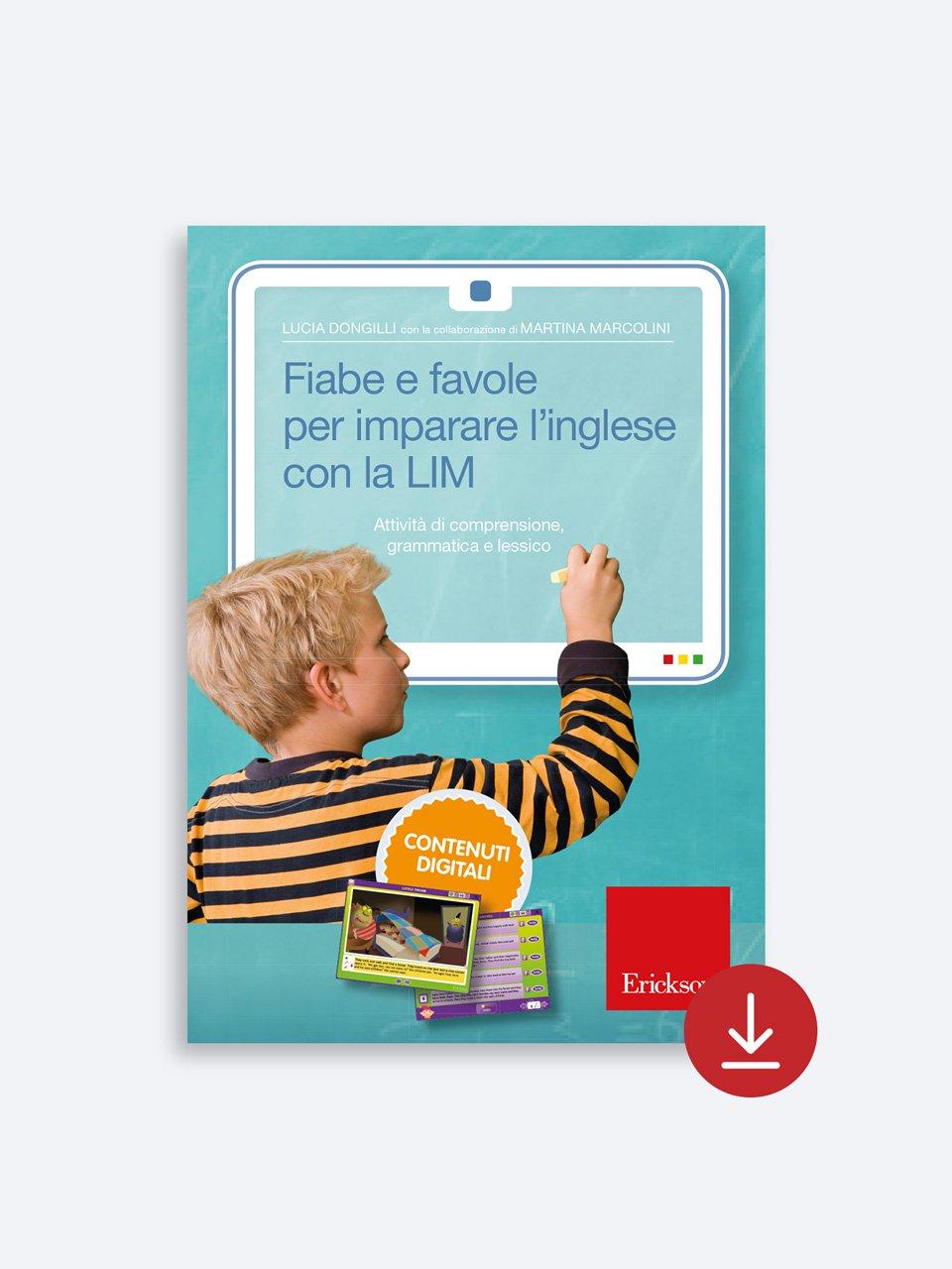 Fiabe e favole per imparare l'inglese con la LIM - Schede per Tablotto (Età 8+) - Play and Learn with - Giochi - Erickson 2
