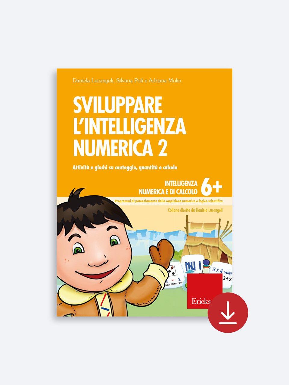 Sviluppare l'intelligenza numerica 2 - Test ABCA - Abilità di calcolo aritmetico - Libri - Erickson 2
