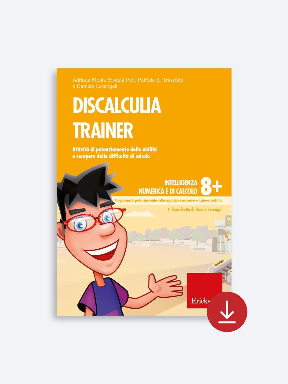 Discalculia trainer - Daniela Lucangeli - Erickson 2