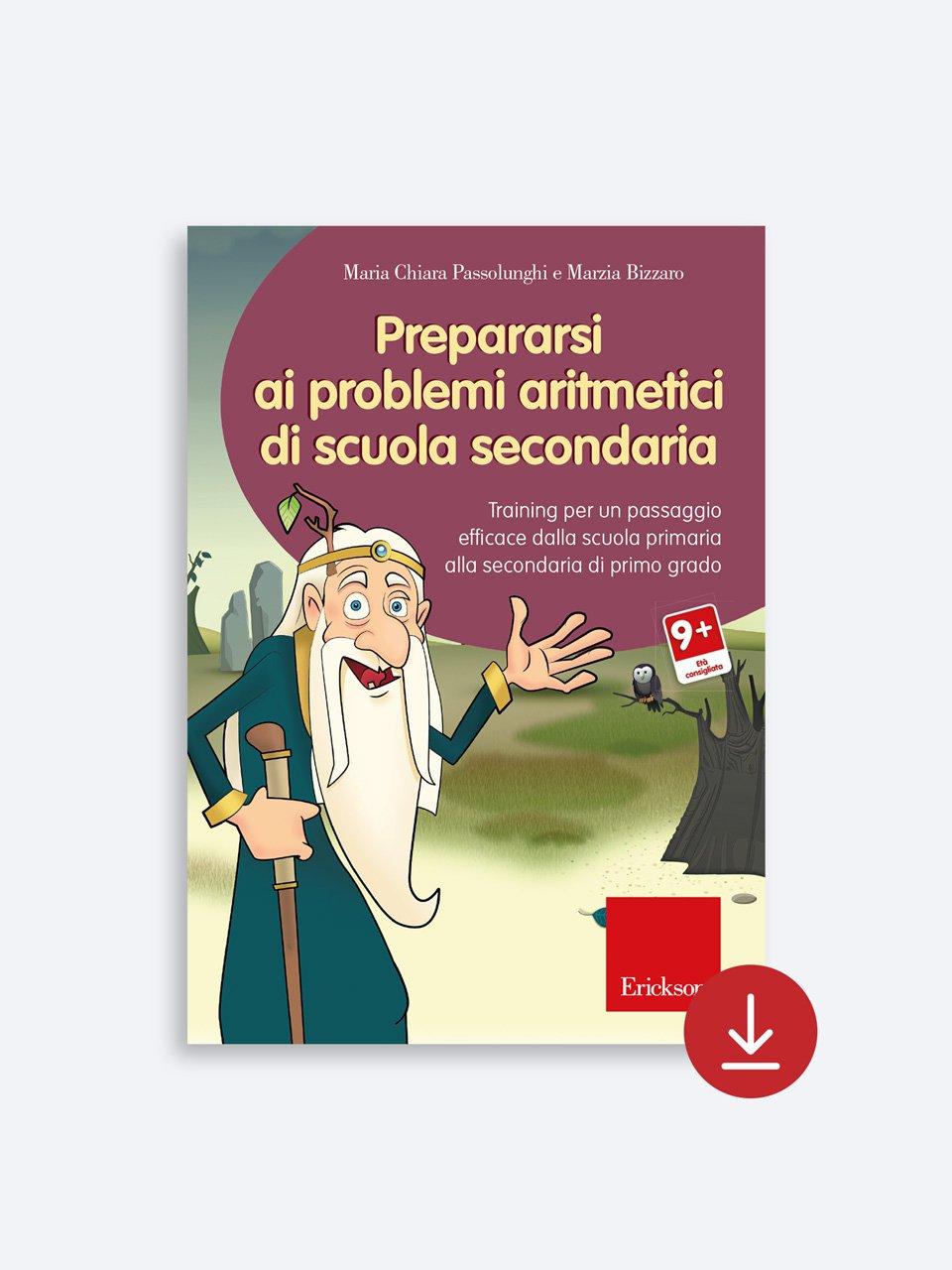 Prepararsi ai problemi aritmetici di scuola secondaria - Le proposte Erickson per i compiti-delle-vacanze - Erickson 2