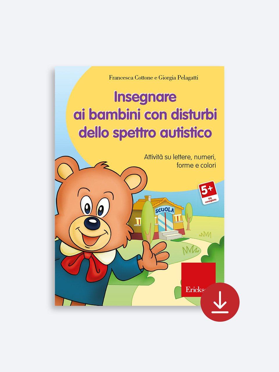 Insegnare ai bambini con disturbi dello spettro autistico - Enigmistica in gioco -  Compiti estivi - Classe qu - Libri - Erickson 2