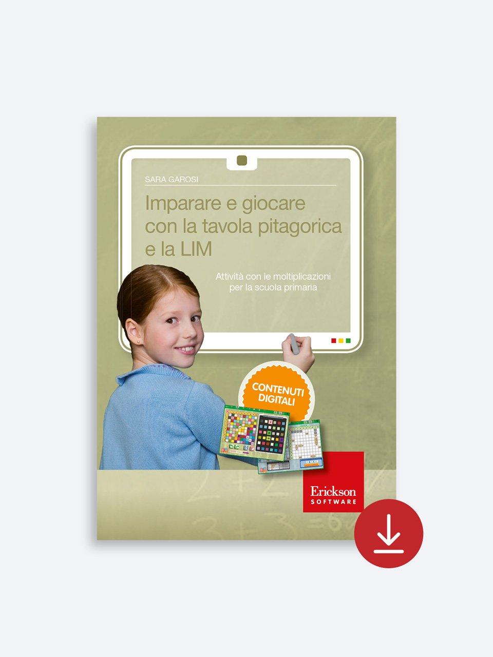 Imparare e giocare con la tavola pitagorica e la LIM - App e software per Scuola, Autismo, Dislessia e DSA - Erickson 2