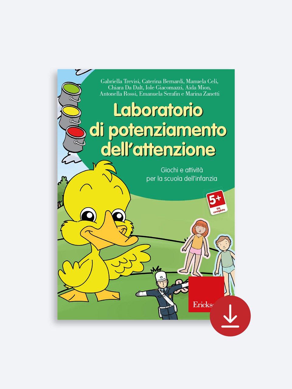 Laboratorio di potenziamento dell'attenzione - Libri - App e software - Erickson 6