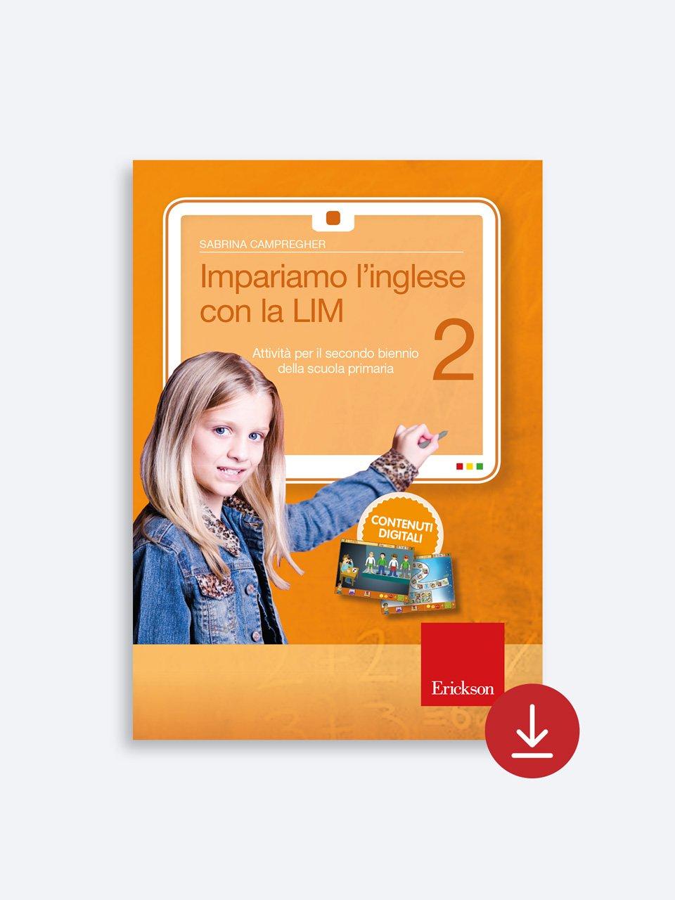 Impariamo l'inglese con la LIM 2 - Schede per Tablotto (Età 8+) - Play and Learn with - Giochi - Erickson 2