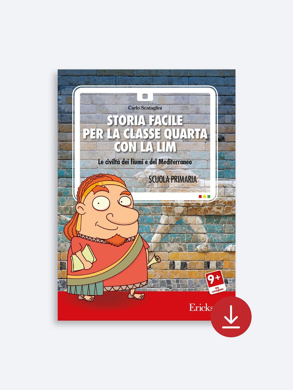 Storia facile per la classe quarta - Storia facile per la classe quinta - Libri - App e software - Erickson 3
