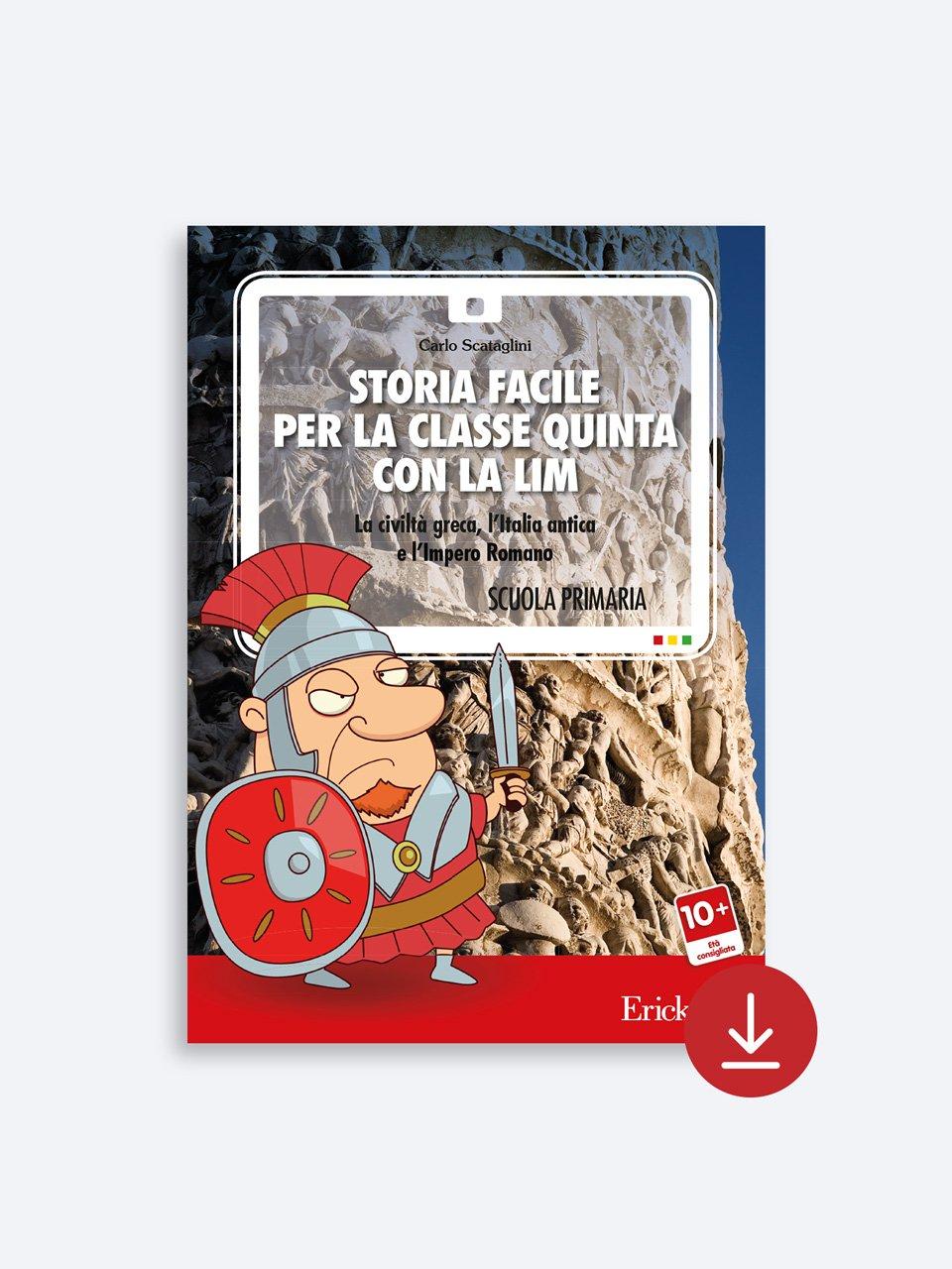 Storia facile per la classe quinta - Libri - App e software - Erickson 7