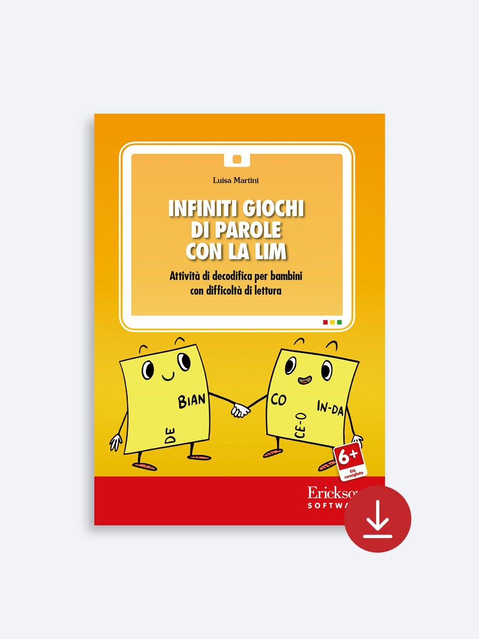 Infiniti giochi di parole - Libri - App e software - Erickson 6